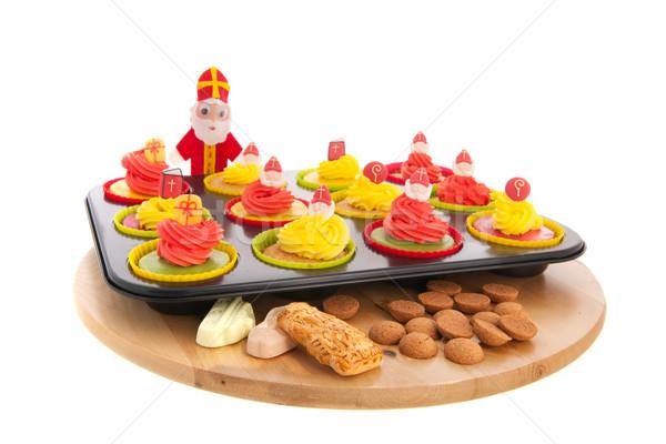 食品 図書 白 スタジオ ストックフォト © ivonnewierink