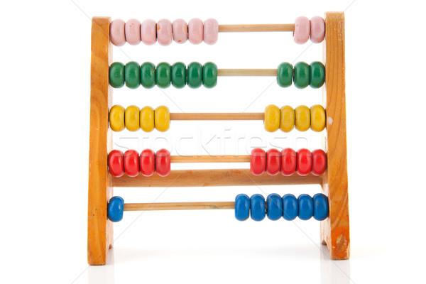 Toy abacus Stock photo © ivonnewierink