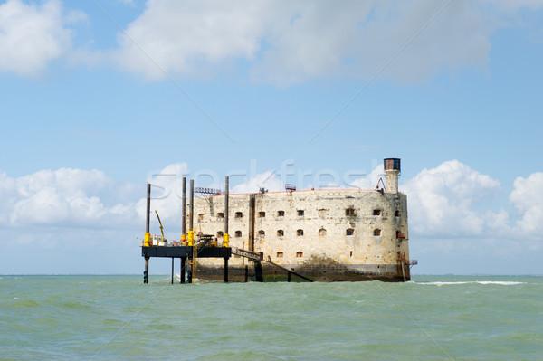 Fort Boyard in France Stock photo © ivonnewierink