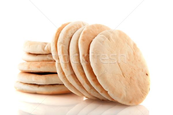 Pita flat bread Stock photo © ivonnewierink
