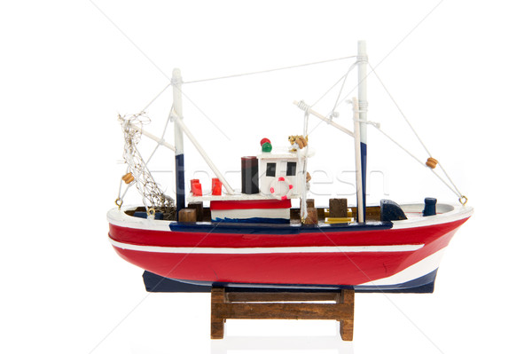 Fishing trawler Stock photo © ivonnewierink