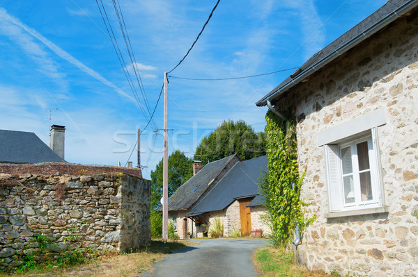 Little French hamlet Stock photo © ivonnewierink