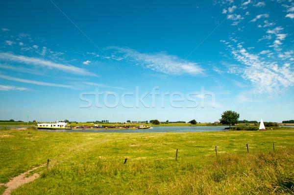 River landscape in Holland Stock photo © ivonnewierink