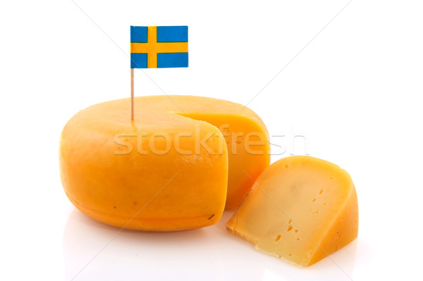 Swedish cheese Stock photo © ivonnewierink