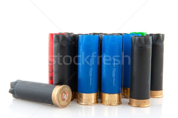 Lövedékek üres használt jacht fekete Stock fotó © ivonnewierink