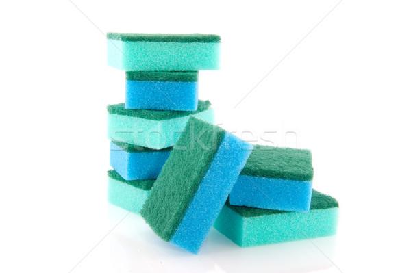 cleaning sponges Stock photo © ivonnewierink