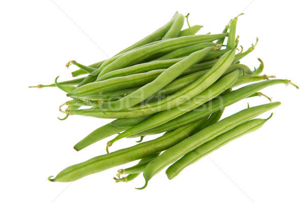 Fresh green beans Stock photo © ivonnewierink