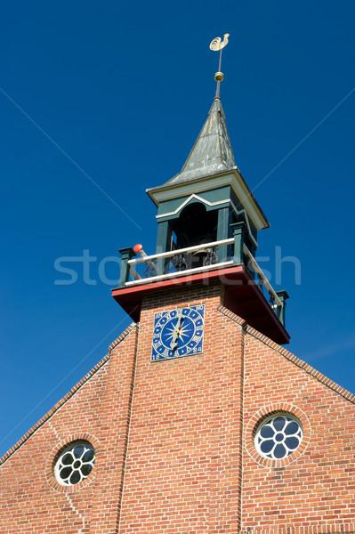 Detail Dutch reformed church Stock photo © ivonnewierink