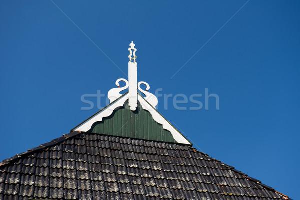 Typical detail Dutch farmhouse Stock photo © ivonnewierink