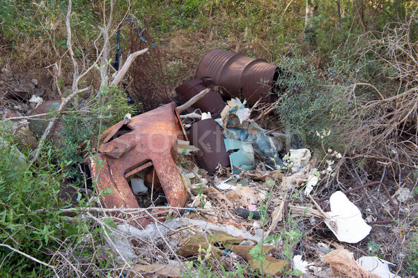 Dumping ground for garbage Stock photo © ivonnewierink