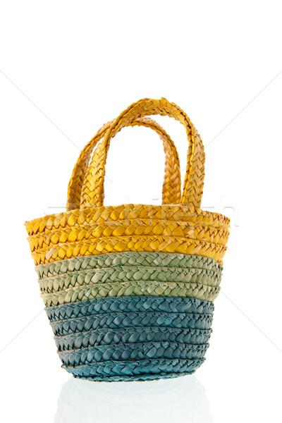Reed bag Stock photo © ivonnewierink