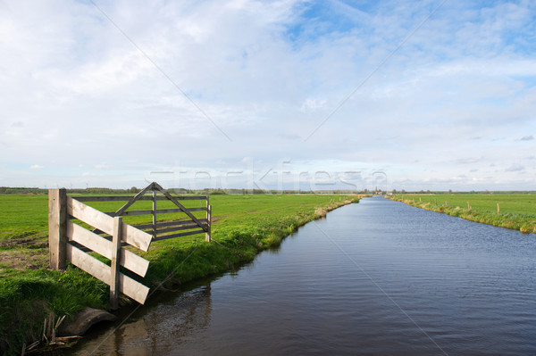 Dutch polder Arkemheen  Stock photo © ivonnewierink