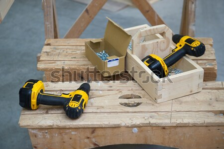 Tools for the carpenter Stock photo © ivonnewierink