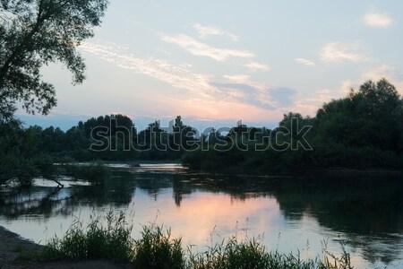 Stock photo: River the Doubs