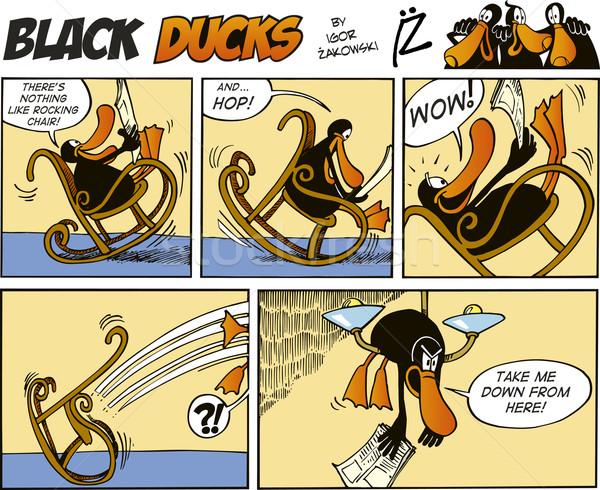 Black Ducks Comics episode 2 Stock photo © izakowski