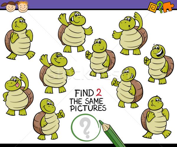 находить фотография игры Cartoon иллюстрация Сток-фото © izakowski
