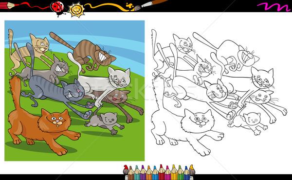 Kedi Stok Vektorler Ilustrasyonlar Ve Kucuk Resimler Sayfa 6