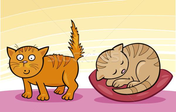Cute little Cats Stock photo © izakowski
