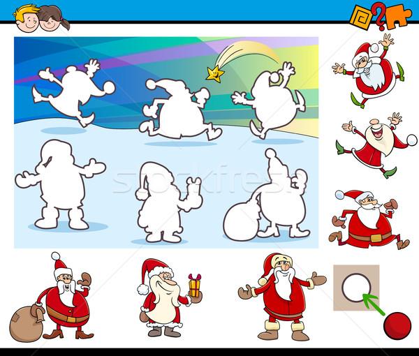 Cartoon educativo juego ilustración actividad tarea Foto stock © izakowski