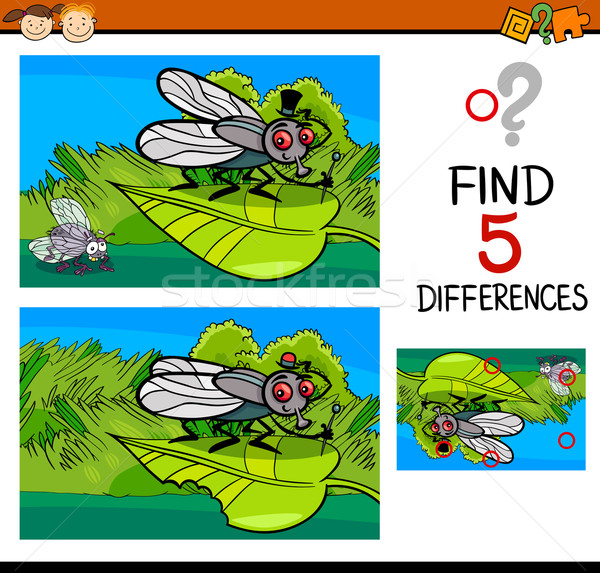 differences task for child Stock photo © izakowski