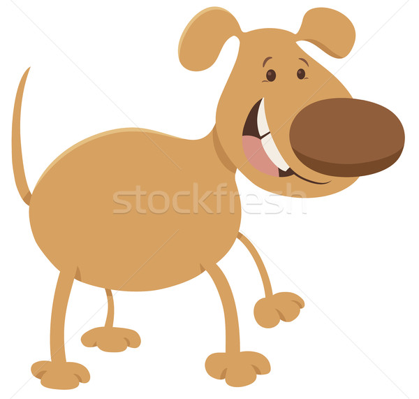 dog cartoon character Stock photo © izakowski