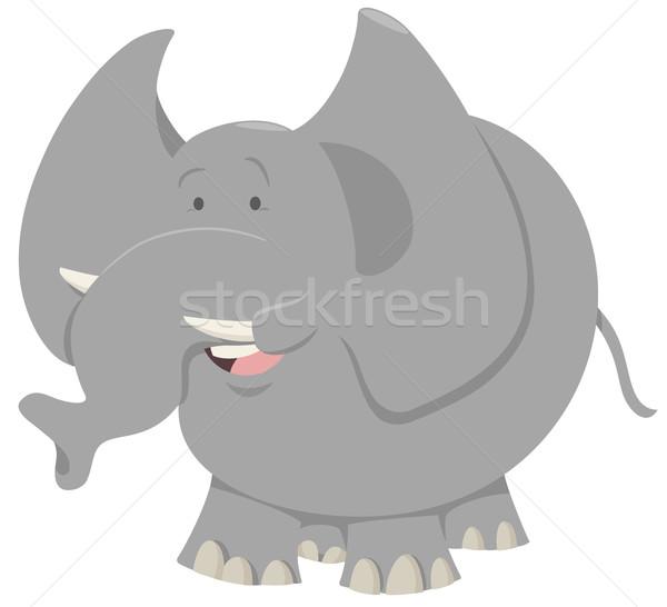 elephant cartoon animal Stock photo © izakowski