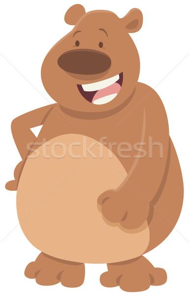 comics bear animal character Stock photo © izakowski