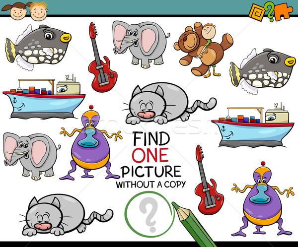 educational task for kids Stock photo © izakowski