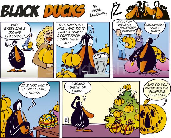 Black Ducks Comics episode 28 Stock photo © izakowski