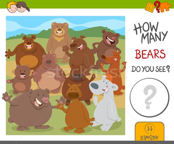 how many bears game Stock photo © izakowski