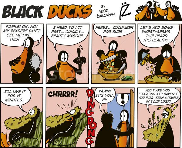 Black Ducks Comics episode 37 Stock photo © izakowski