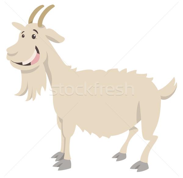 Cabra desenho animado ilustração engraçado Foto stock © izakowski