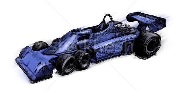 Former formula one bolide Stock photo © izakowski