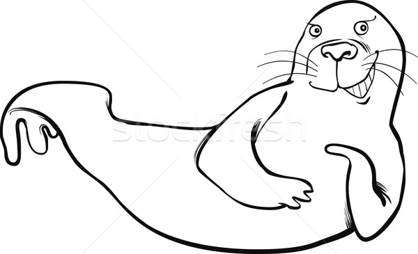 47 Cute Walrus Coloring Pages For Free