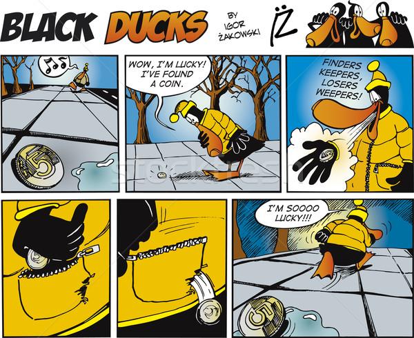 Black Ducks Comics episode 71 Stock photo © izakowski