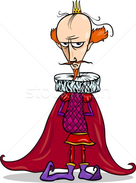 king cartoon fantasy character Stock photo © izakowski