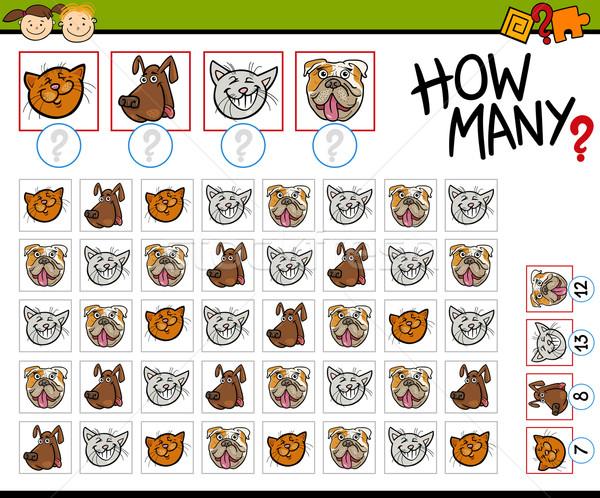 Stock fotó: Játék · rajz · illusztráció · oktatás · óvoda · gyerekek