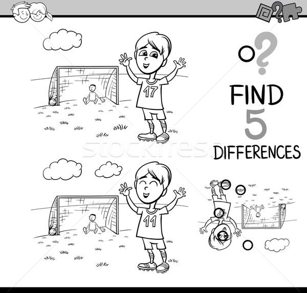 preschool activity coloring book Stock photo © izakowski