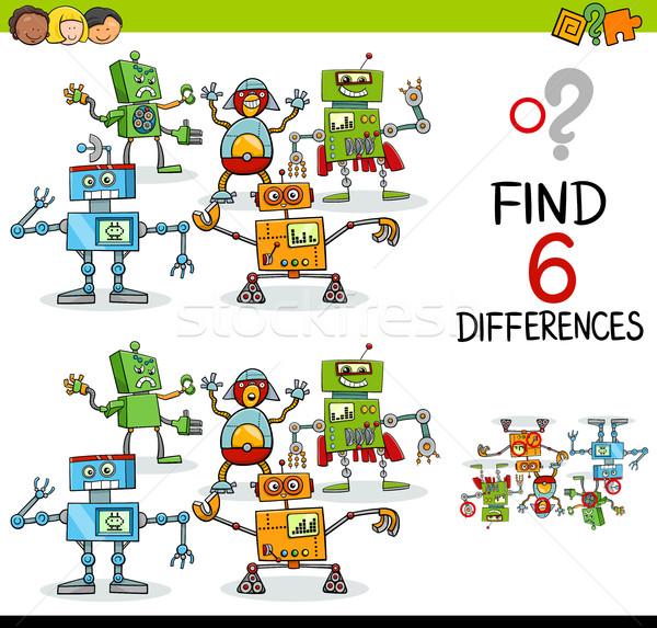 educational difference game Stock photo © izakowski