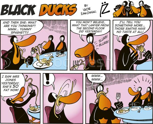 Black Ducks Comics episode 24 Stock photo © izakowski