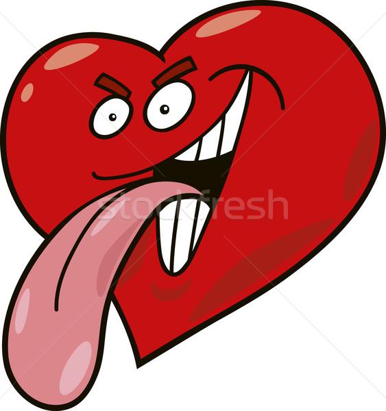 malicious heart Stock photo © izakowski