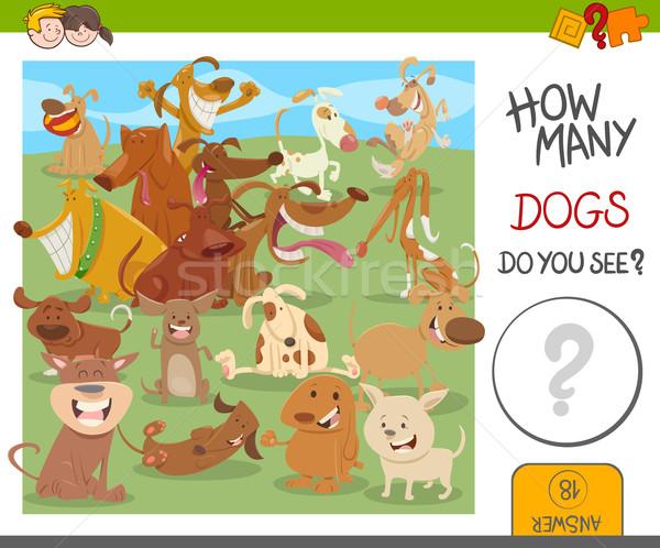 how many dogs game Stock photo © izakowski