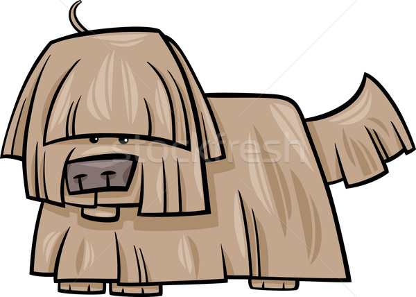 Chien cartoon illustration drôle animaux Photo stock © izakowski