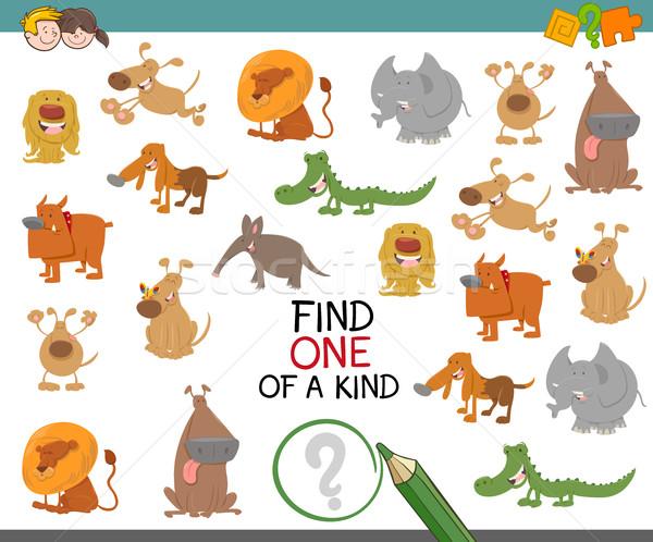 find one of a kind with animals Stock photo © izakowski