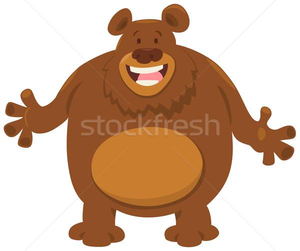 bear cartoon animal Stock photo © izakowski