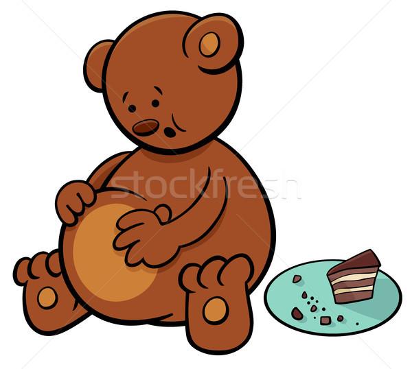 little bear cartoon character Stock photo © izakowski