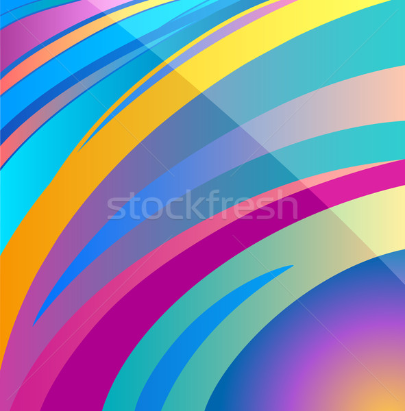 Vetor abstrato aura projeto colorido moderno Foto stock © izakowski