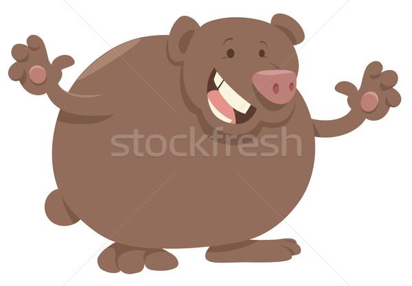 cartoon bear animal character Stock photo © izakowski