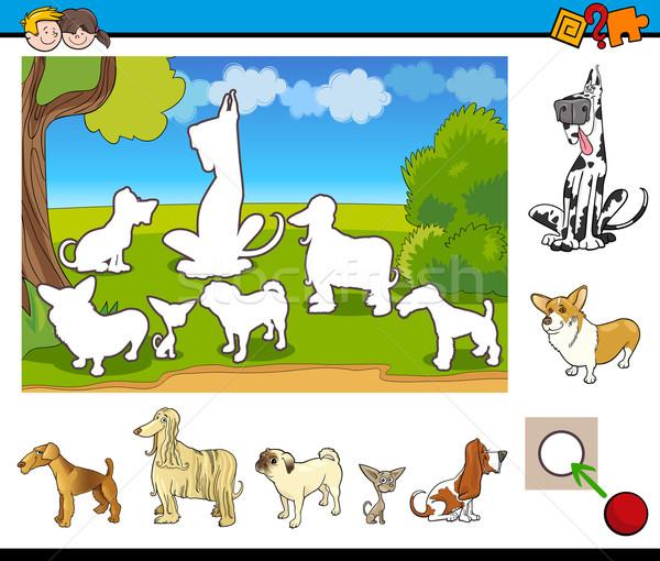 Educativo juego ninos Cartoon ilustración actividad Foto stock © izakowski