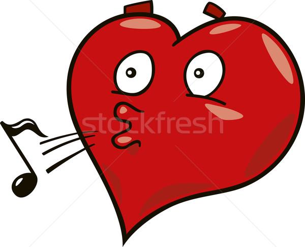 laidback heart Stock photo © izakowski